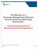 The Benefits of a Business Management Software Suite for Small and Mid-Sized Businesses: Overcoming the Barriers of Stand-alone