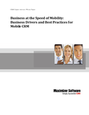 Business at the Speed of Mobility