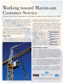 Maxim Crane Works' Dedication to Excellent Customer Service Leads to C2 CRM.