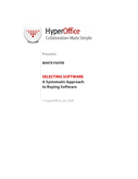A Systematic Approach to Buying Software