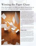 Clear TechnologiesTM C2 CRM helps Brown Chemical stay in touch with customers and fulfill regulatory requirements