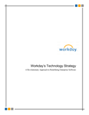 Workday's Technology Strategy A Revolutionary Approach