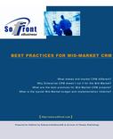Best Practices in Mid-Market CRM