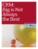 CRM: Big is Not Always Best