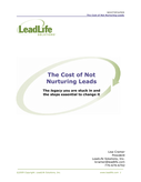 The Complete Lead Nurturing Handbook - How to Maximize Your Efforts