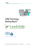 Landslide Technology Review by CRM Mastery