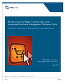 The Ecommerce Edge: The Benefits of an Integrated Business Management Software Suite