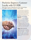 ProActive Improves Customer Loyalty with C2 CRM.