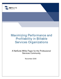 Maximizing Performance and Profitability