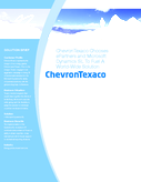 ChevronTexaco Chooses ePartners and Microsoft  Dynamics SL To Fuel A World-Wide Solution
