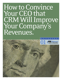 How to Convince your CEO that CRM will Improve your Company's Revenues
