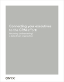 Connecting your executives to the CRM effort