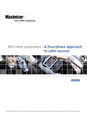 Win New Customers: A Four-Phase Approach to Sales Success