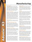 Sage ERP X3 Manufacturing