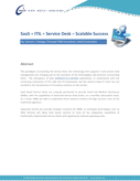 SaaS + ITIL + Service Desk = Scalable Success