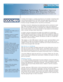 Goodway Technology Corporation Improves Customer Service with Oncontact Software