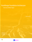 FrontRange Foundation Architecture - Overview White Paper