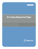 VMware Customer Case Study - U.S. Census Bureau