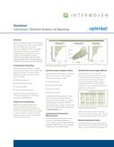 Interwoven Optimost Analytics & Reporting Datasheet