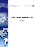 Online Content Speaks Volumes