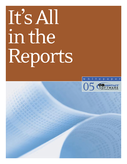 It's All in the Reports!
