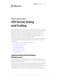 VDI Server Sizing and Scaling