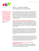 Qualys Case Study - Ebay