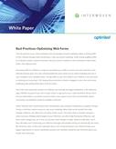 Best Practices: Optimizing Web Forms