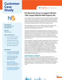 hi5 Networks Grows to Support World's 10th Largest Website With Hyperic HQ