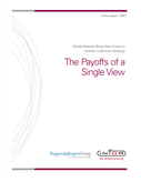 The Payoffs of a Single View