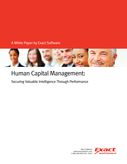 Human Capital Management: Securing Valuable Intelligence Through Performance