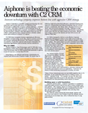 Aiphone is beating the economic downturn with C2 CRM