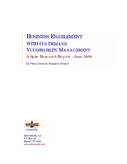 Business Enablement with On Demand Vulnerability Management