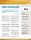 PHM Services Improves Financial Processes, Consolidation and Reporting with Intacct