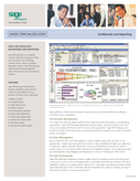 Sage CRM SalesLogix Dashboards and Reporting