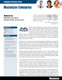 Mathusek Inc.   Using Maximizer Enterprise to Manage Growth, Increase Sales