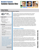 Bridge Solutions Inc. | Maximizer Enterprise helping with Managing Relationships