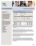 Sage SalesLogix - CRM and Back Office Integration Brief