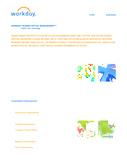 HCM Organize Datasheet