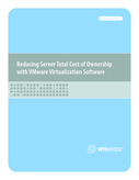Reducing Server Total Cost of Ownership (TCO) With VMware
