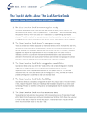 The Top 10 Myths About the SaaS Service Desk