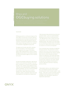 Onyx and OGCbuying.solutions