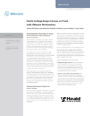 Heald College Keeps Classes on Track with VMware Workstation